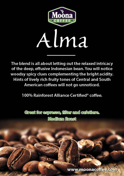 ALMA Blend – Medium – Dark Roast